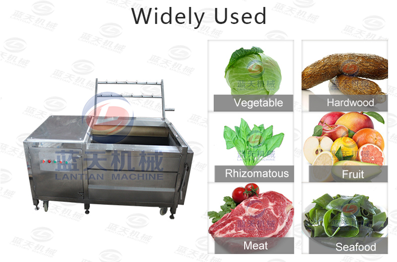 Widely used of cassava washer machine