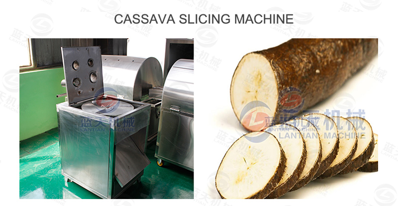cassava slicing machine